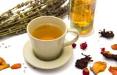 tea against colds and coughs
